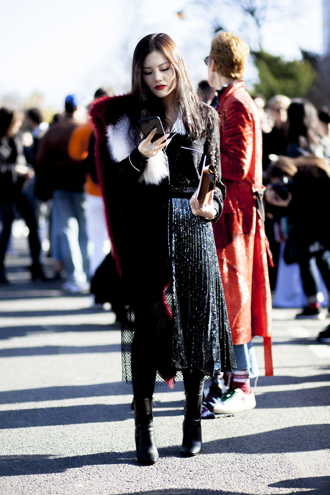 Paris fashion week streetstyle 024