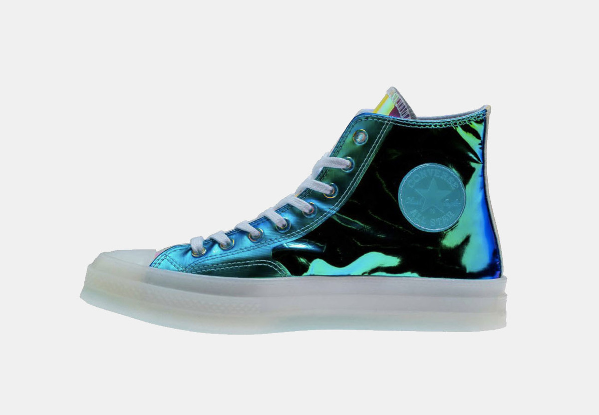 The Converse Chuck 70 Has Been Given The Iridescent Treatment