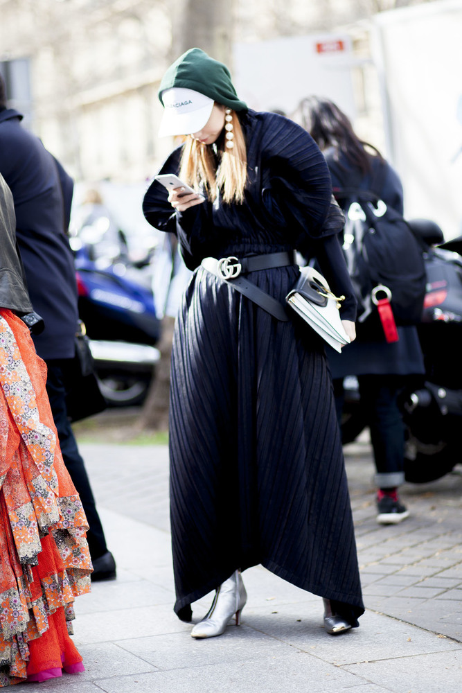 Paris fashion week streetstyle 068