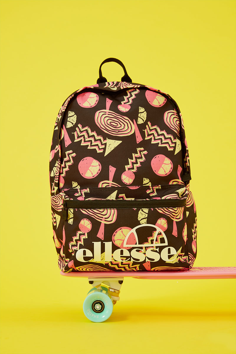Ellesse Revives The 90s Surf Style With Pastel Patterns And Neon Prints