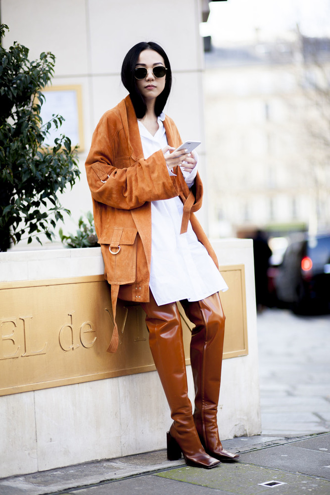 Paris fashion week streetstyle 073