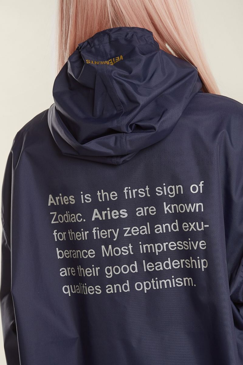 Vetements Looks To The Stars With 12 New Astro Raincoats