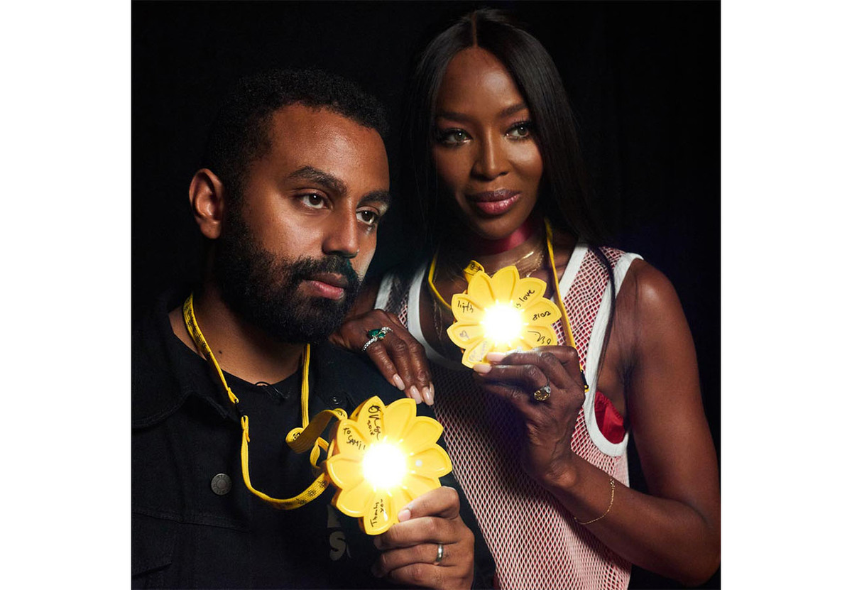 Virgil Abloh And Naomi Campbell Amongst Names Lighting Up CIFF Charity Collab