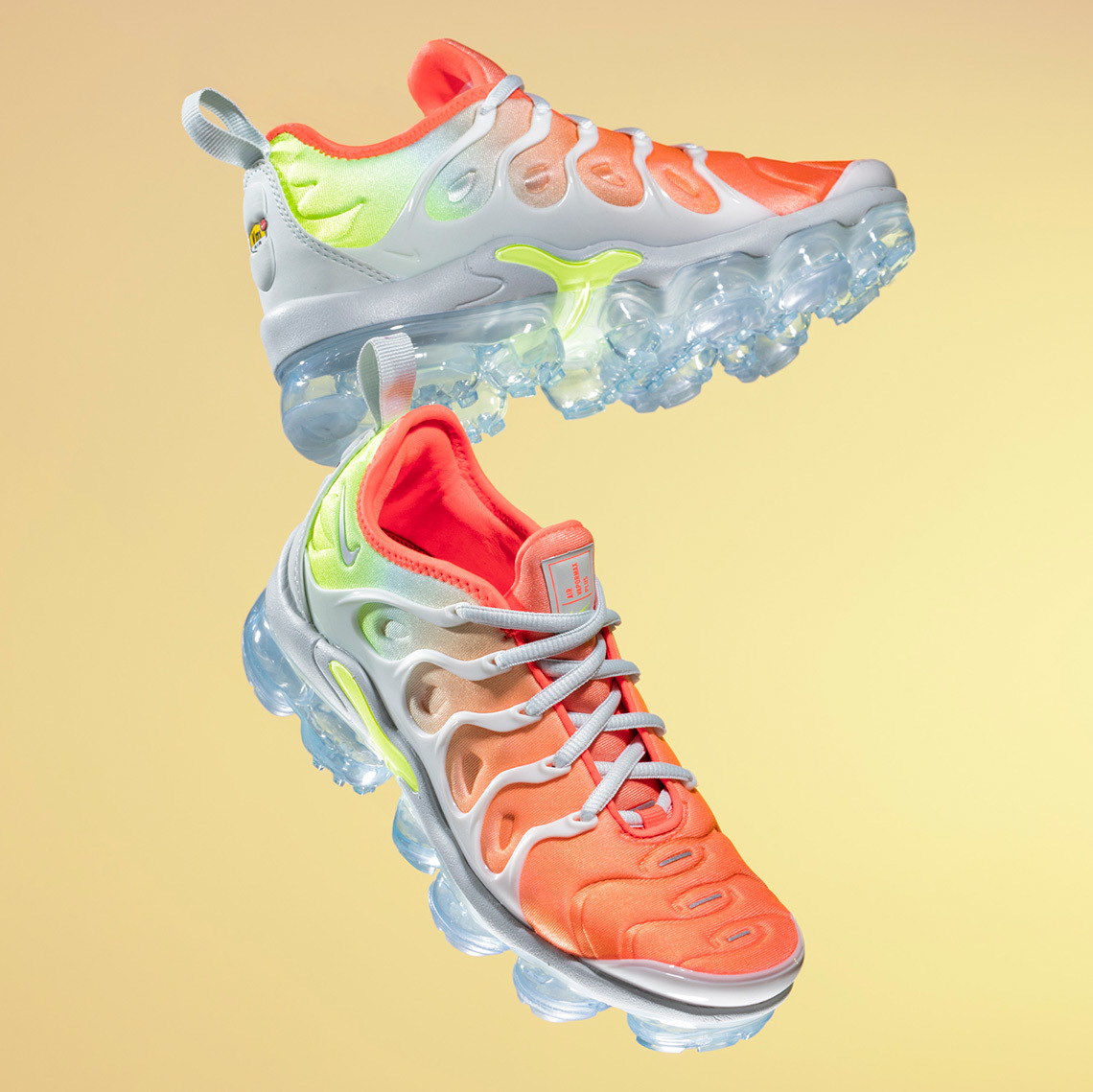 Where To Shop The Super-Vibrant Nike Vapormax Plus Spring Collection