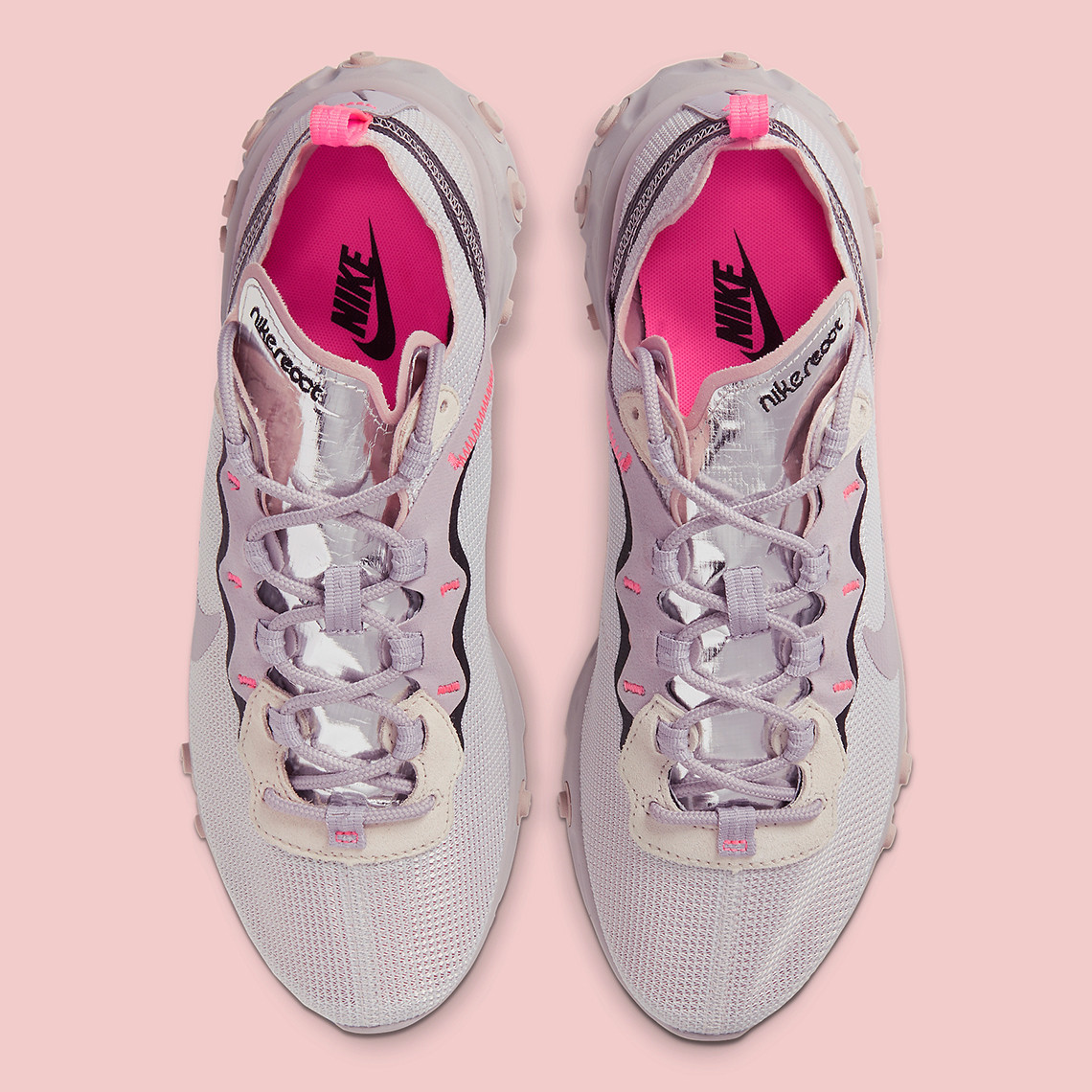 Put The Spring In Your Step With A Pastel Nike React Element 55 Colorway