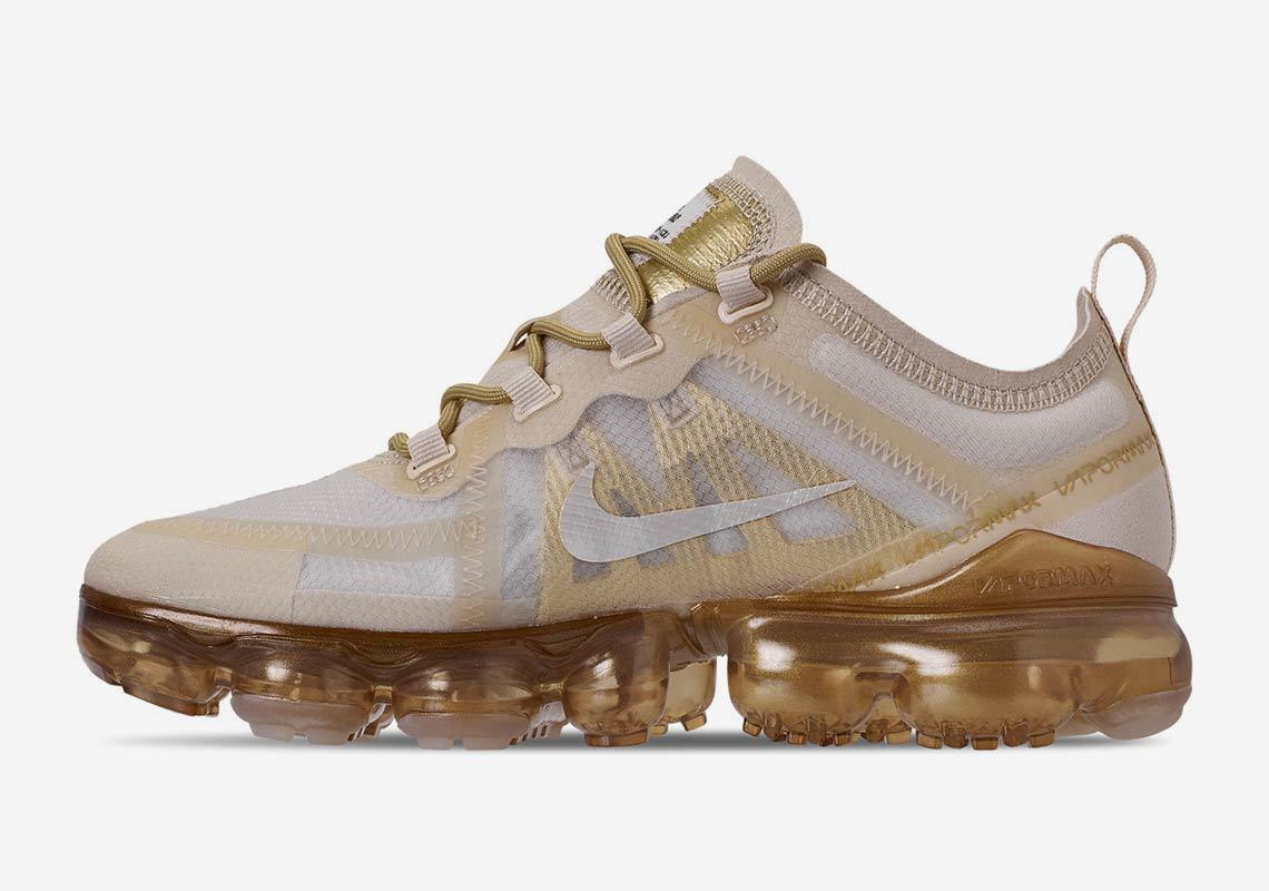 Nike Launches New Metallic Gold Vapormax 2019