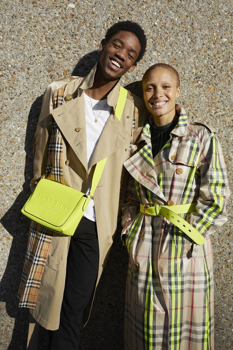 Adwoa Aboah Enlists Her Cousins For A Chill New Burberry Shoot