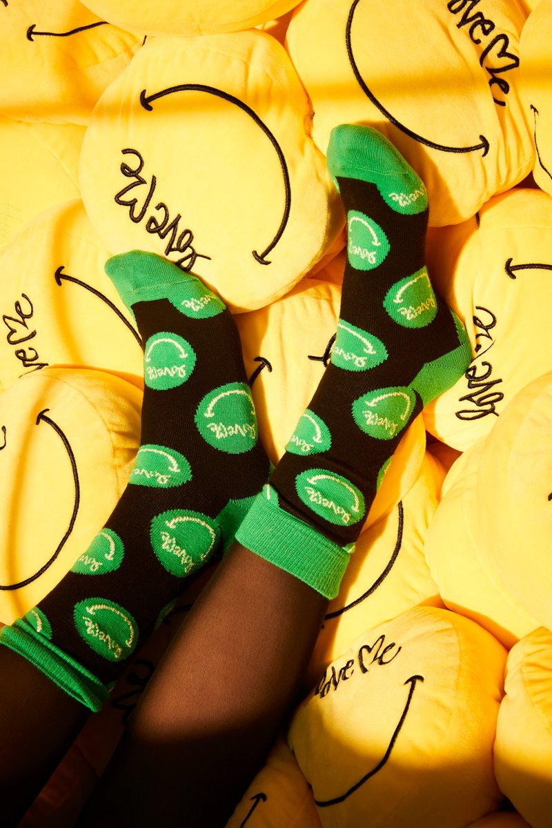 Happy Socks & Love Me's Latest Collaboration 'Let Love Grow'