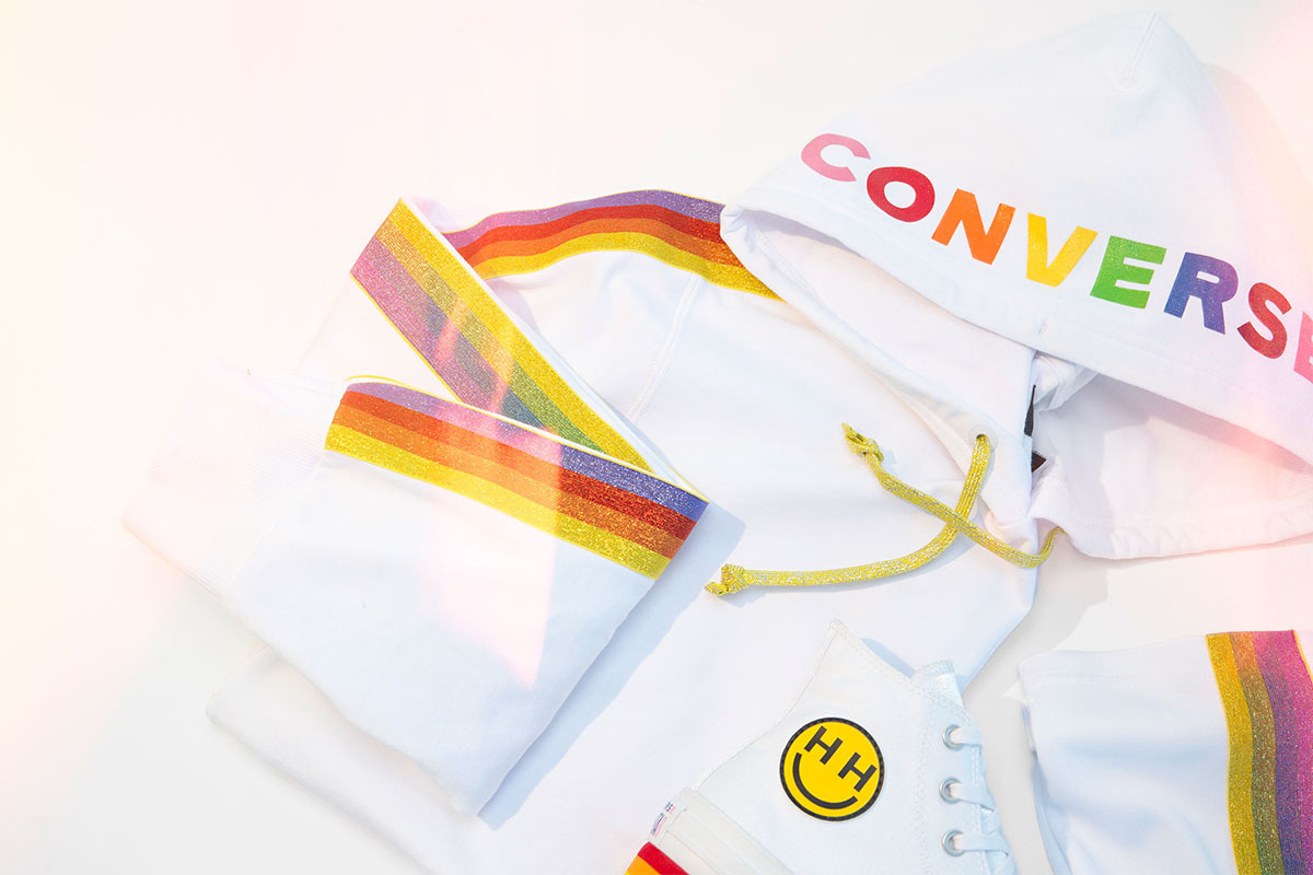 Converse Pride Collection X Miley Goes Beyond Sneakers