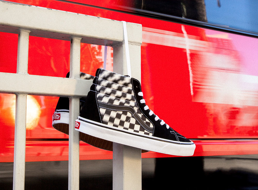 Vans Takes A Fresh Turn On The Iconic Checkerboard Sneaker With The Blur Check Pack