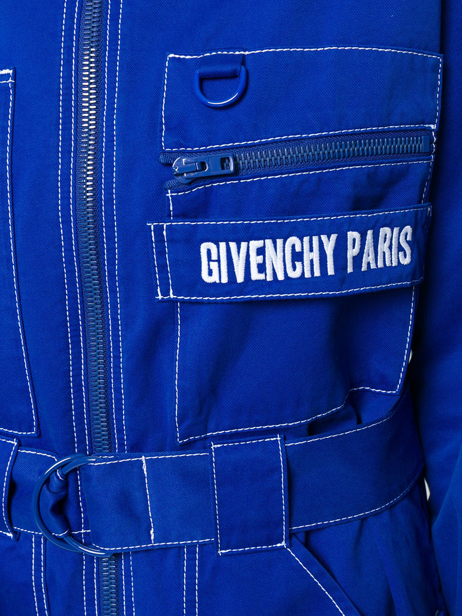 Get Back To Werk In Givenchy's Badass Logo Jumpsuit