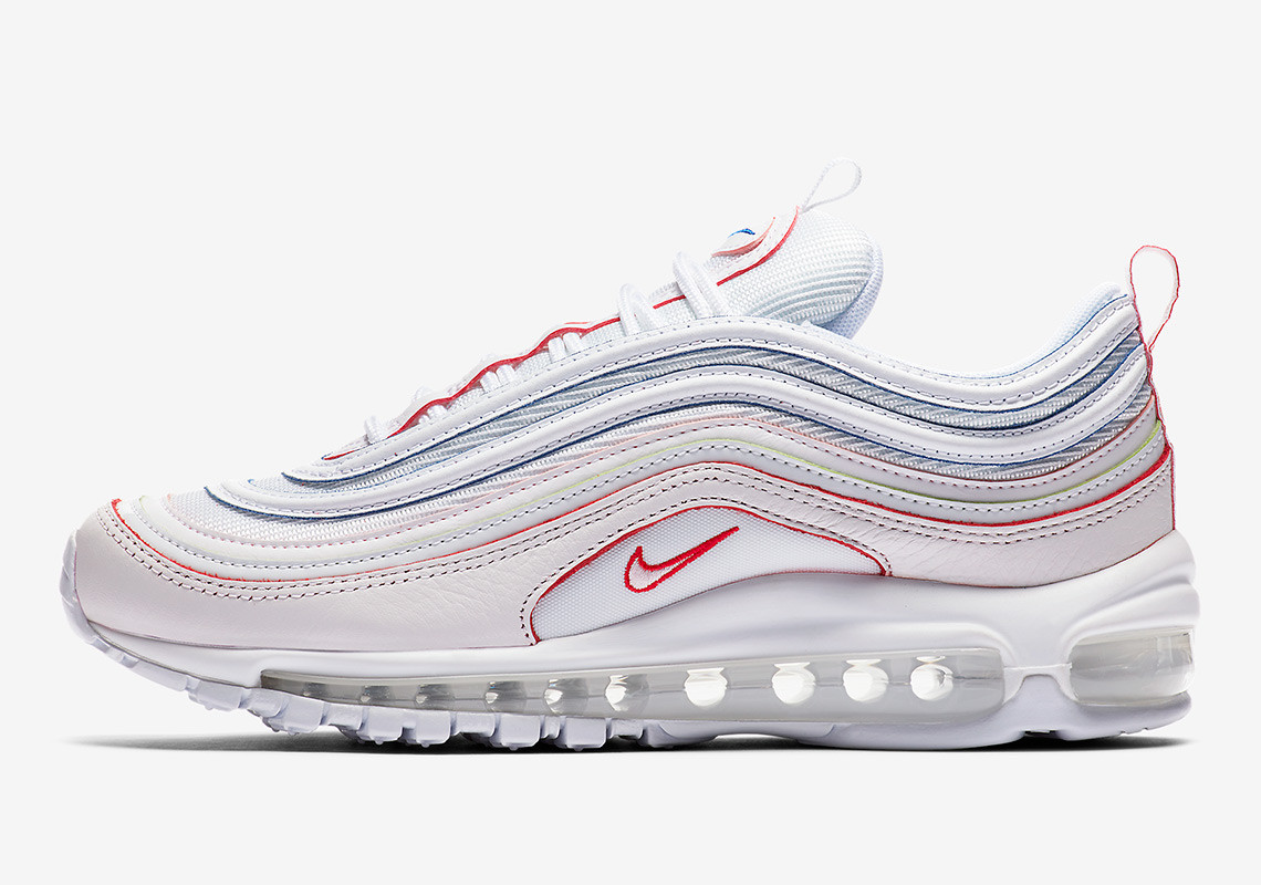 Nike's New Air Max 97 Are White Kicks With A Rainbow Twist