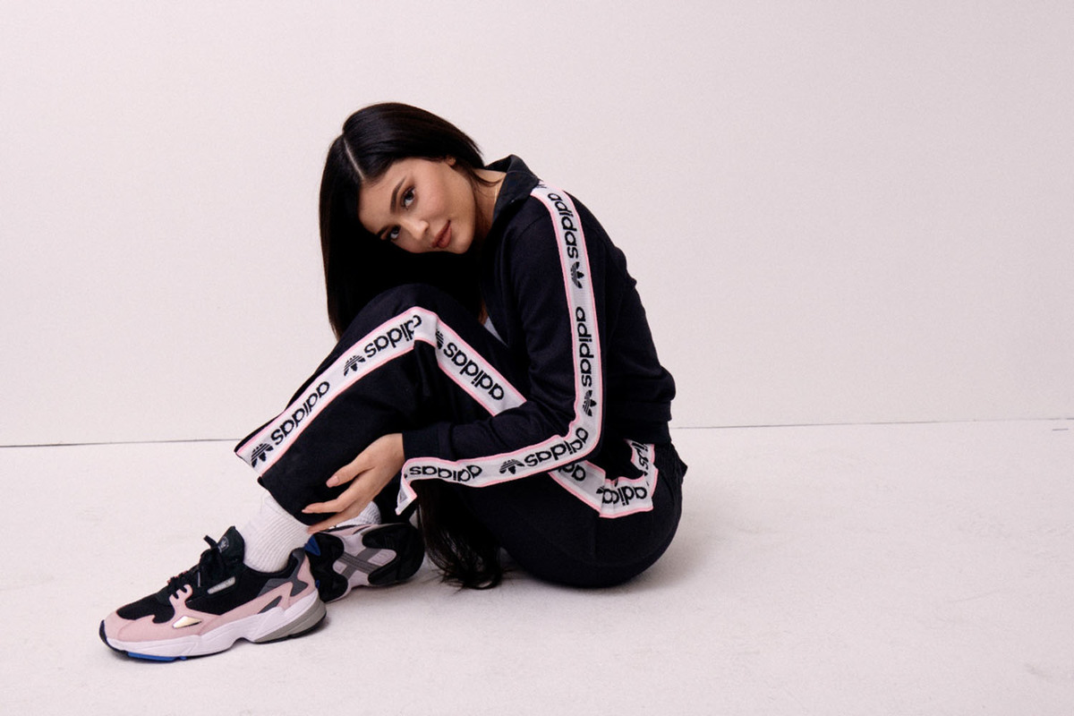 Kylie Jenner With Adidas Originals New Falcon Campaign