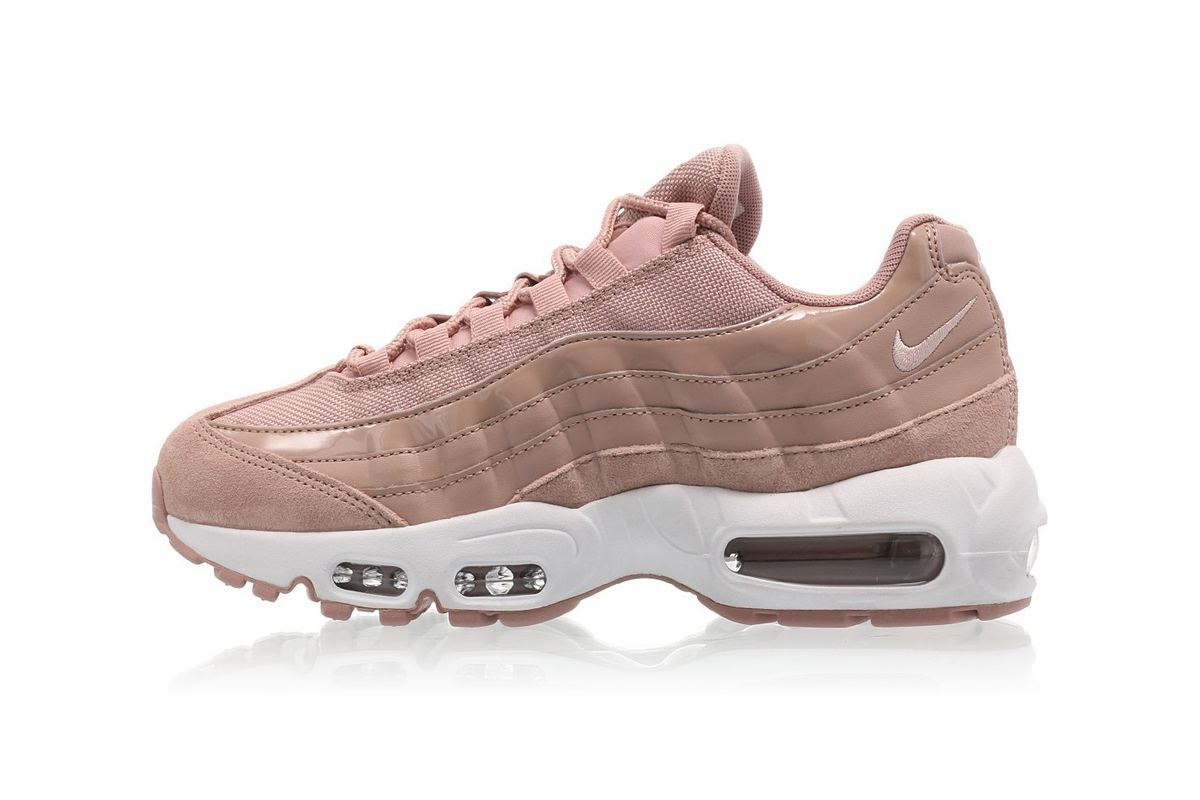 "The Nike Air Max 95 ""Particle Pink"" Is Peachier Than Your Behind"
