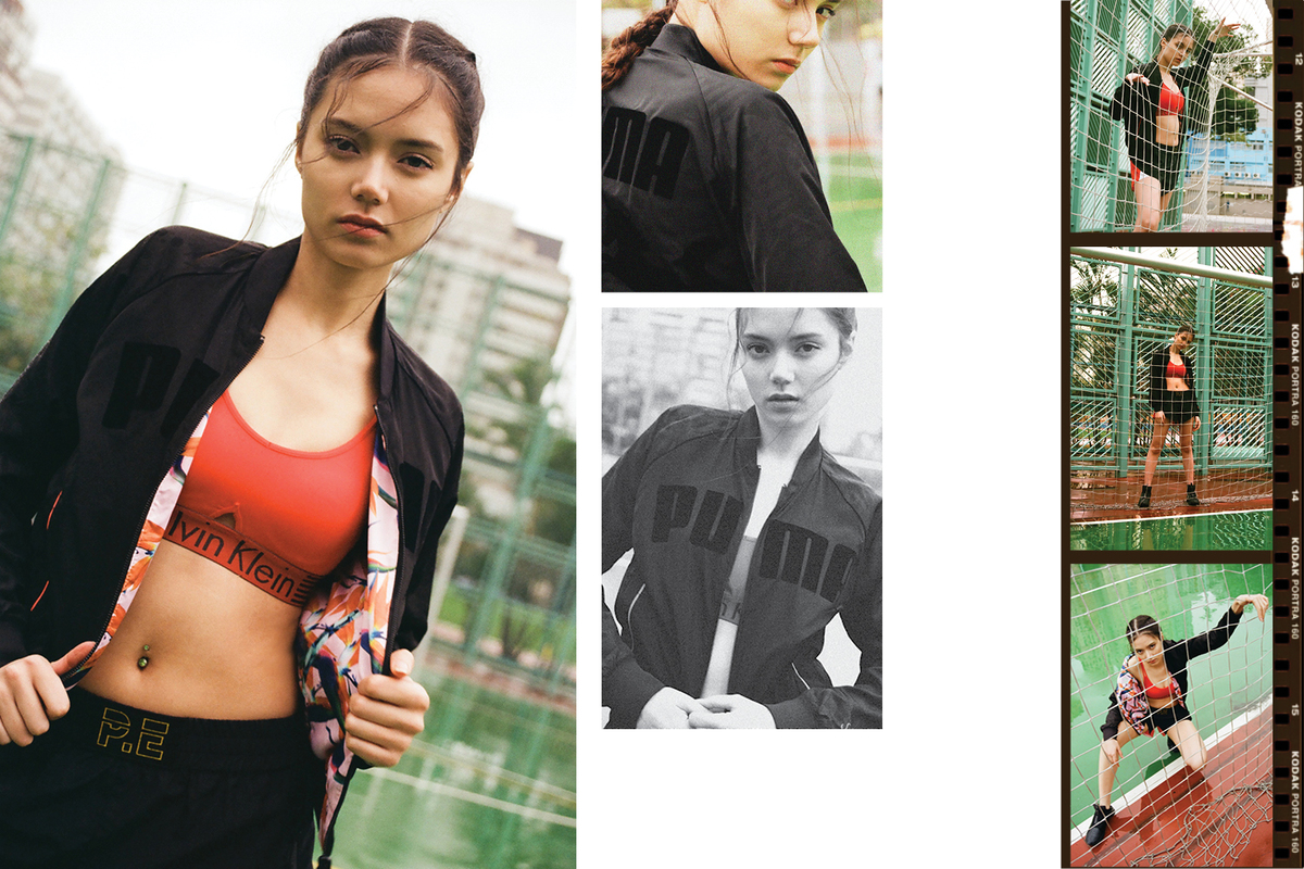 Fit Pics: HBX Showcases Activewear Must-Haves In New Editorial