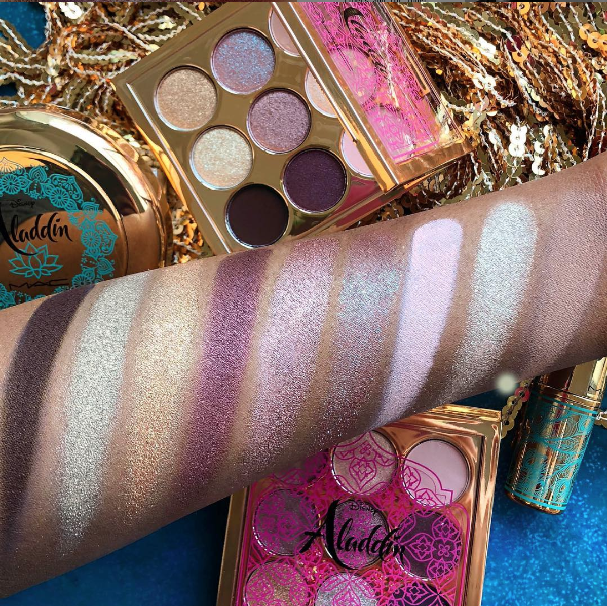 A Whole New World Of Makeup For You To Discover With New 'Aladdin' Inspired MAC Collection