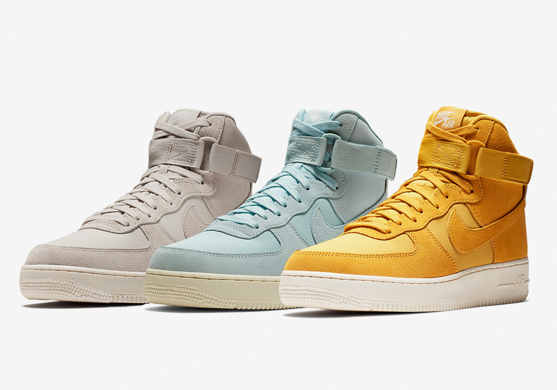 The Air Force 1 High Has More Suede Options