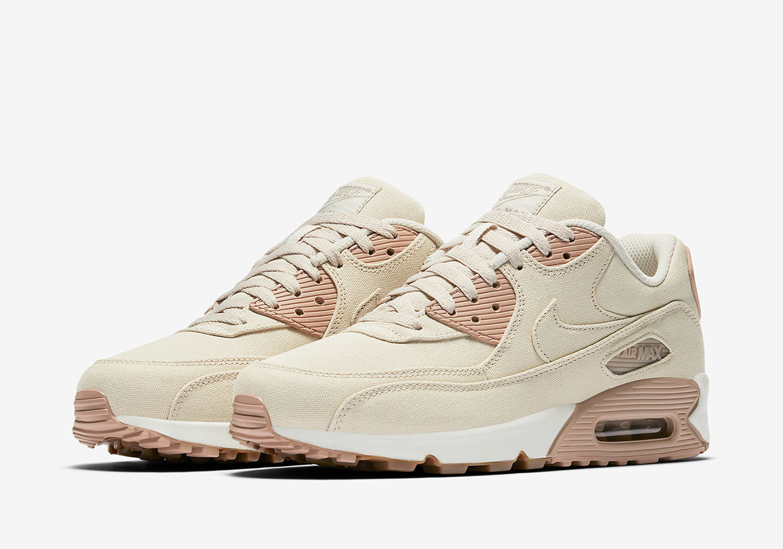 Nike's Air Max 90 Gets Wrapped In Linen For Summer