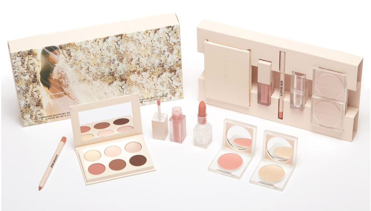 Kim Kardashian Releases New Makeup Collection Inspired By Her Own Wedding