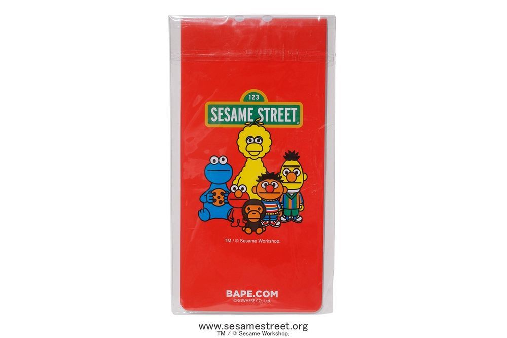Bape x Sesame Street Capsule Collection Is Set To Release This Weekend