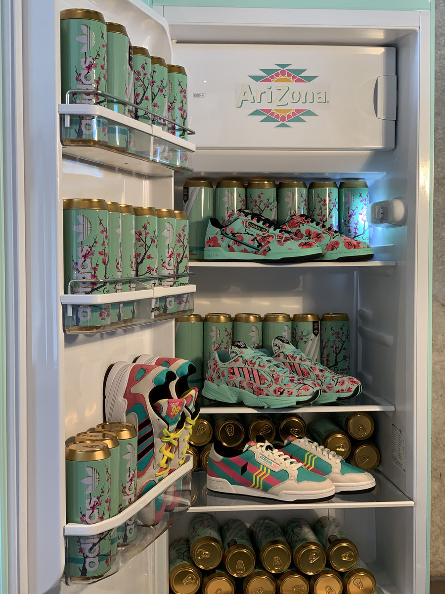 Image result for arizona iced tea adidas sneakers