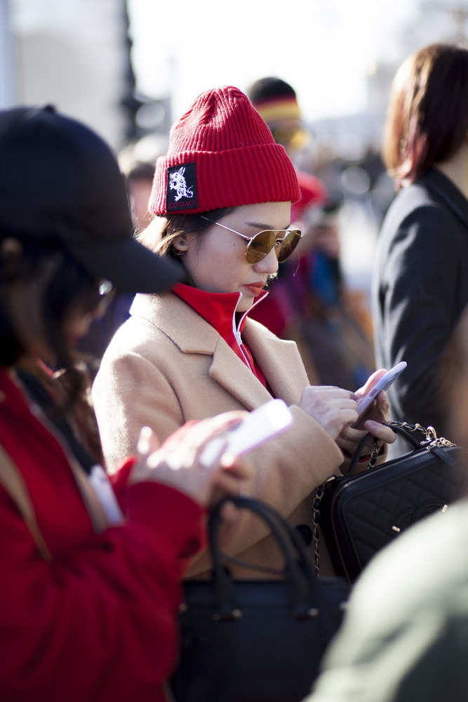 Paris fashion week streetstyle 014