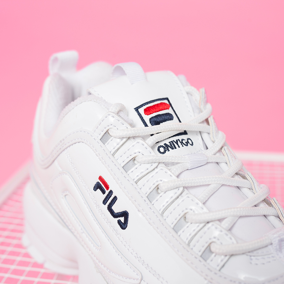 "ONYGO Adds A Touch Of ""GRL PWR"" To FILA's Disruptor 2"