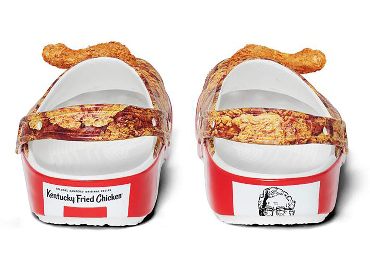 Finger Lickin' Footwear From A KFC X Crocs Collaboration
