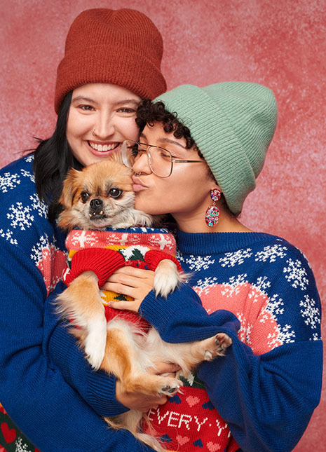 Monki's New Christmas Sweaters Will Pimp Your Family Portrait