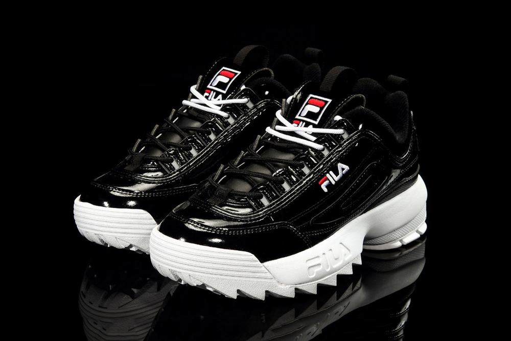 FILA's Pitch-Black Disruptor 2 Is Perfect For Nocturnal Souls