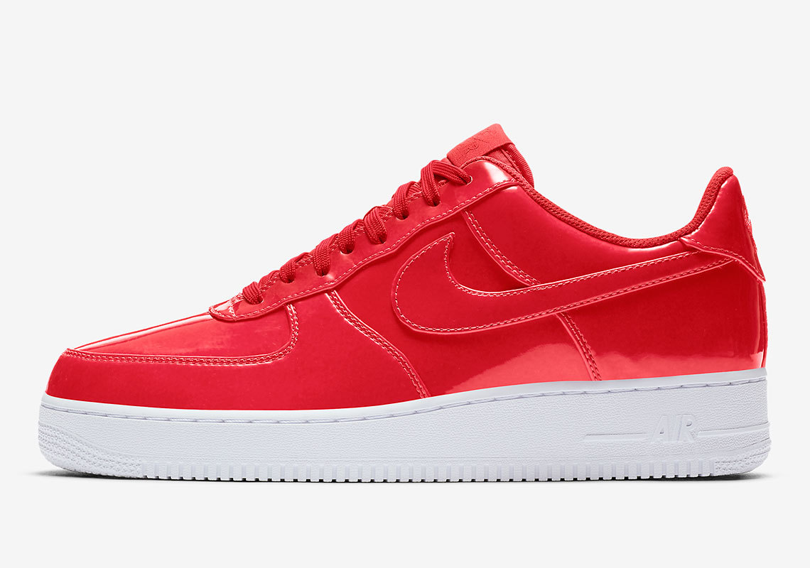 Dazzle From The Ground Up In These Neon Nike Air Force 1 Lows