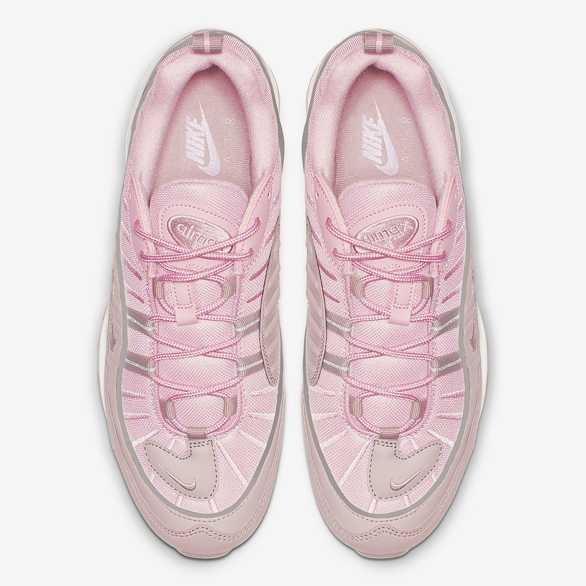 "The Air Max 98 Reinvented In ""Pink/Pumice"""