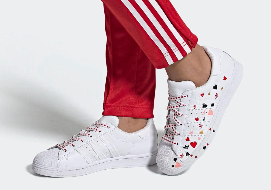 We Have Heart Eyes For Adidas' Valentine's Themed Superstar