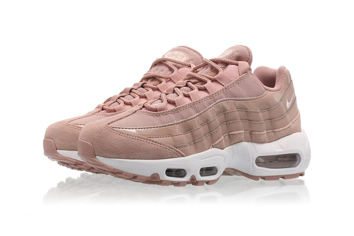 The Nike Air Max 95 Particle Pink Is Peachier Than Your Behind