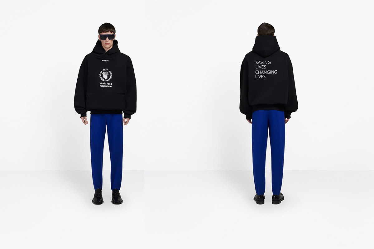 Balenciaga Partners With World Food Programme To End Hunger