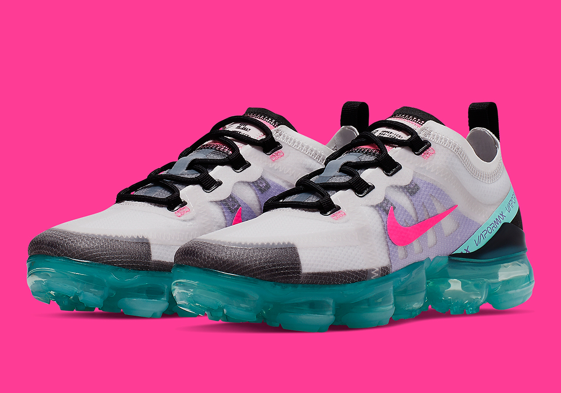 This Women's Nike Air VaporMax 2019 Is Vibrantly Vacation Ready