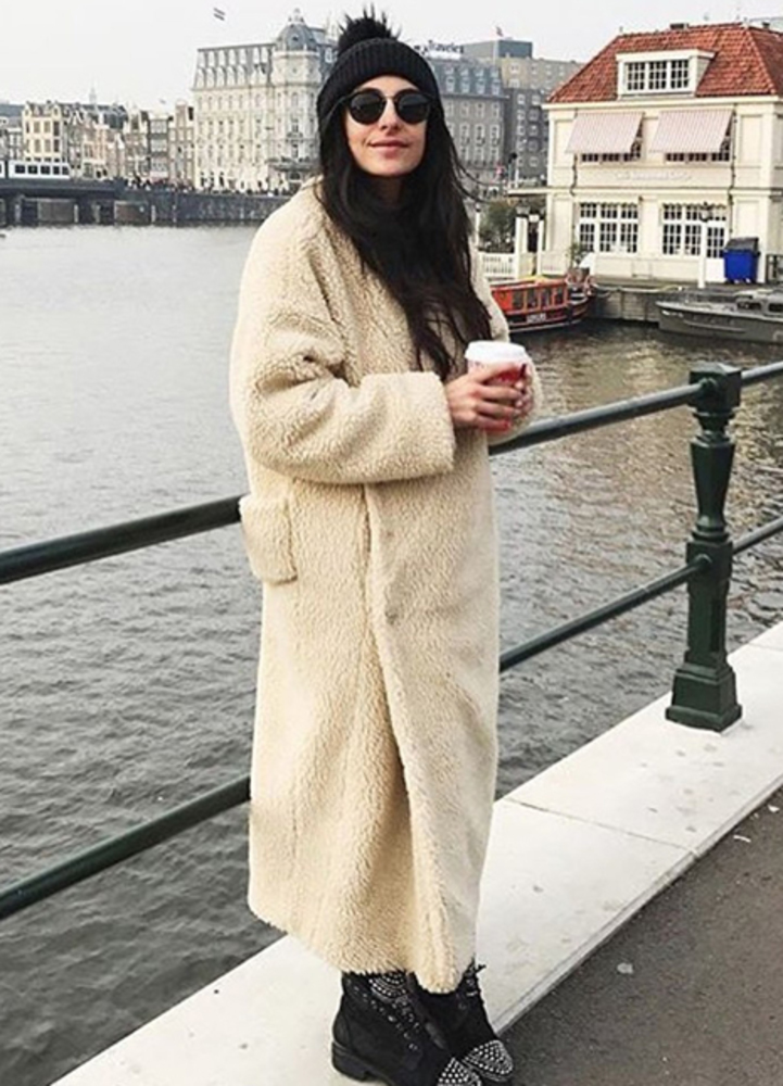 Teddy bear coat 1