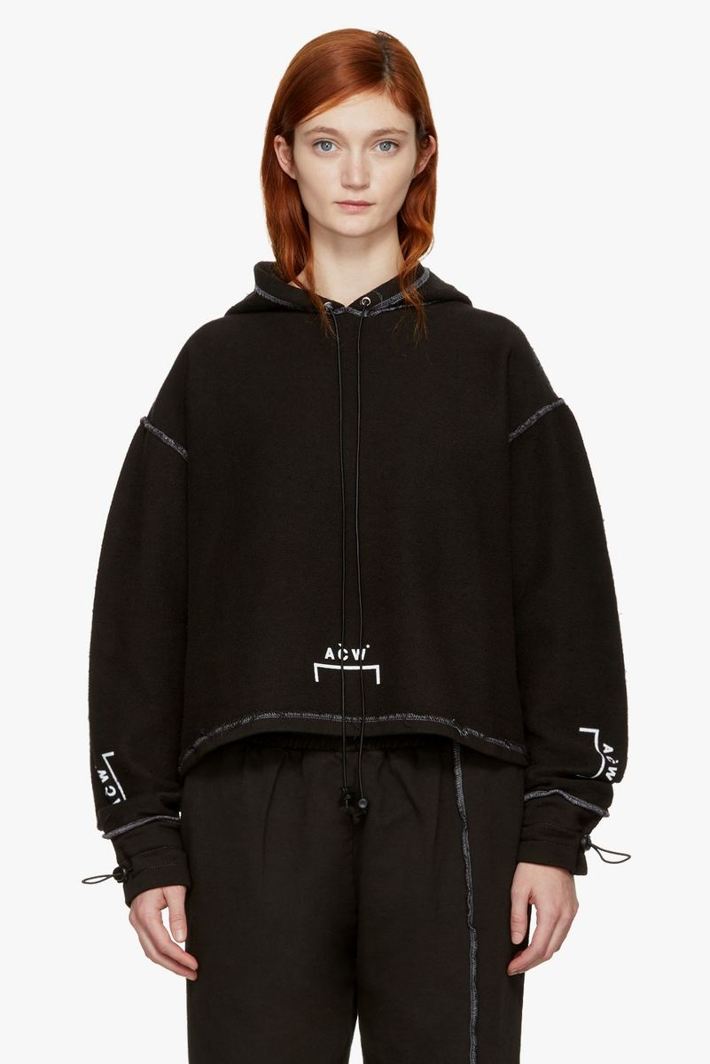 SSENSE & A-COLD-WALL* Collab On Cozy All-Black Collection