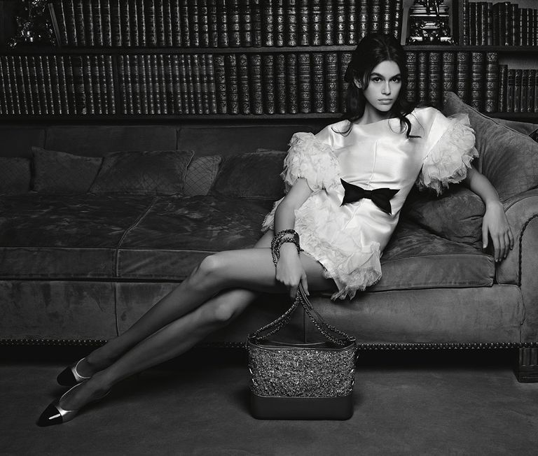 Fashion's Latest Obsession Kaia Gerber Stuns In Her Chanel Campaign Debut