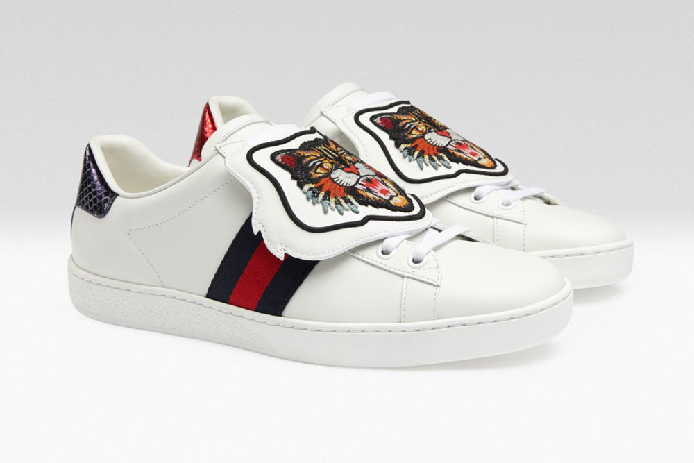 Gucci Sneaker Patches Are A Thing - Customize Your Kicks