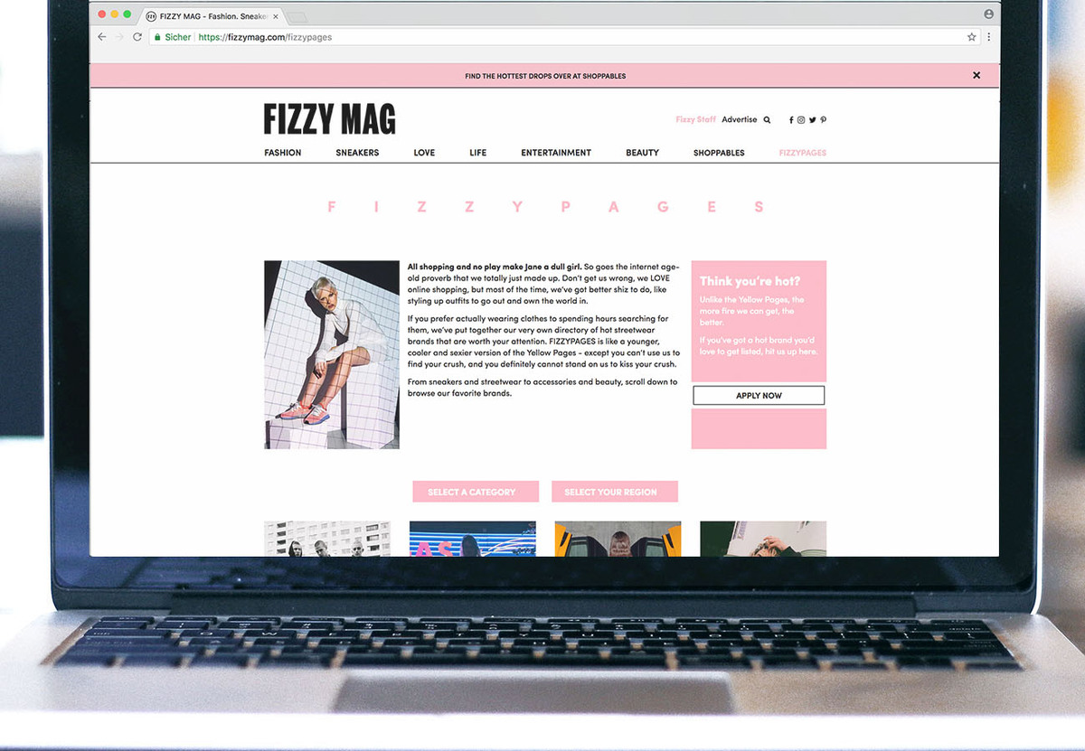FIZZYPAGES: A Younger, Cooler And Sexier Version Of The Yellow Pages