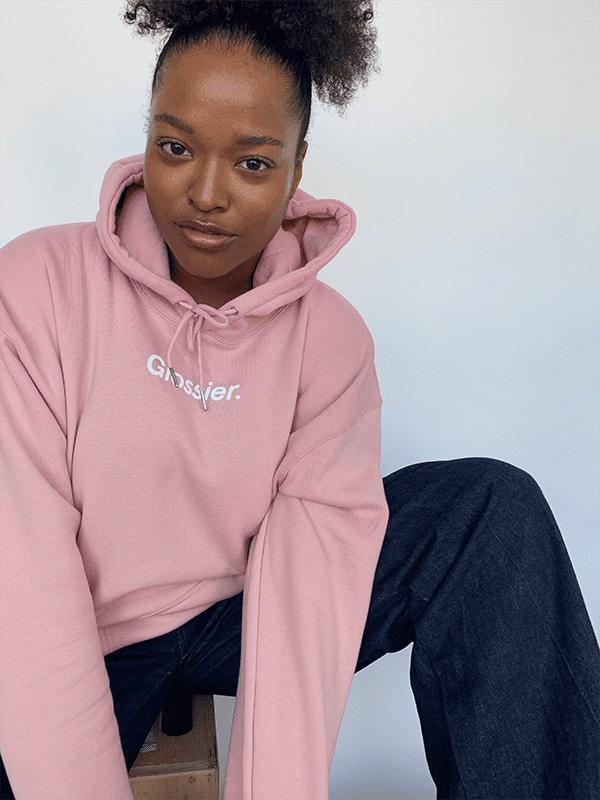 The Glossier Hoodie Is Finally Back In Stock