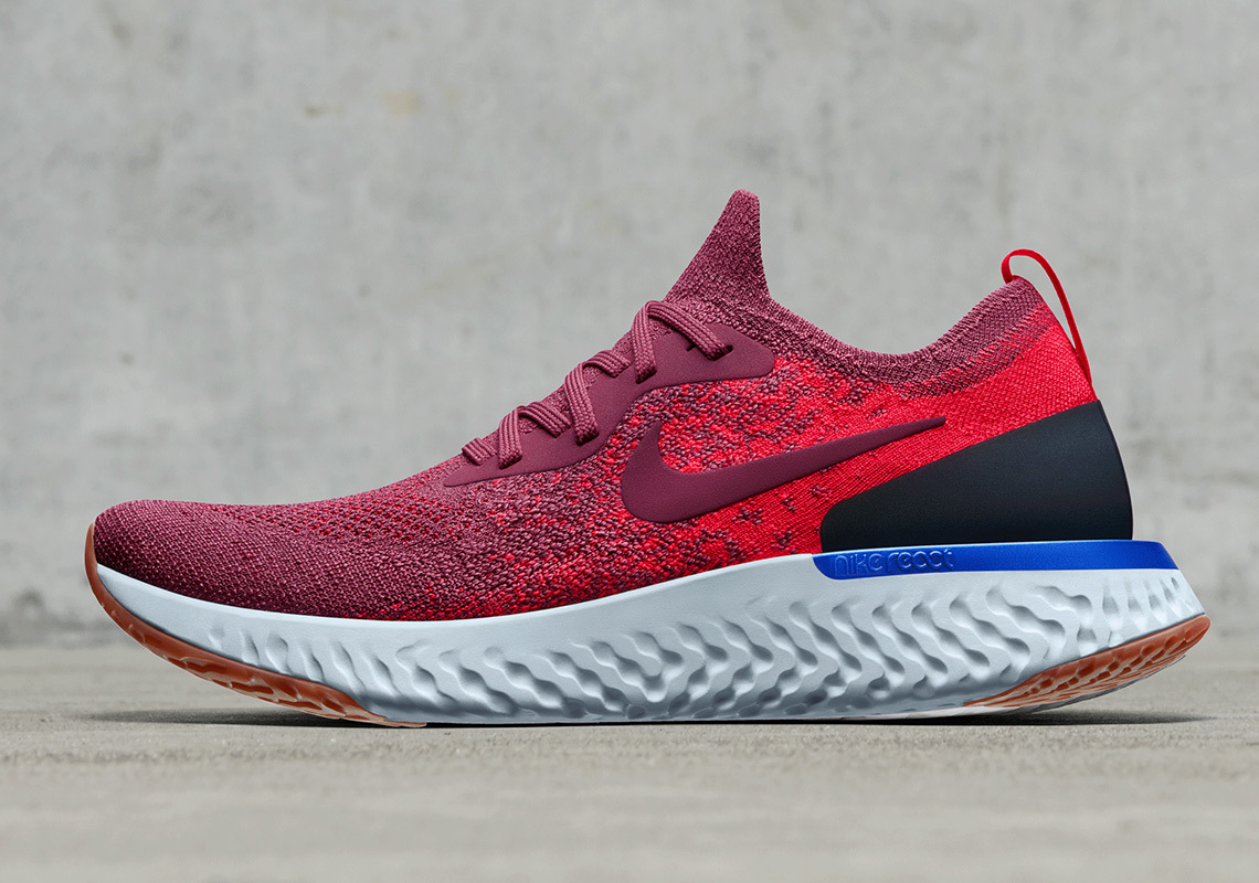 Nike's Springy Epic React Flyknit Is Arriving In 5 New Colorways