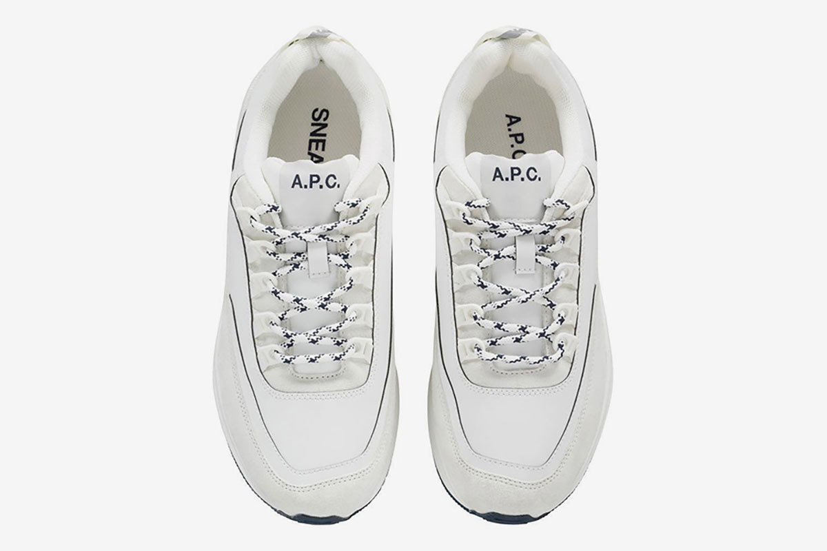 A.P.C. Jumps On The Dad Sneaker Bandwagon With Upcoming Drop