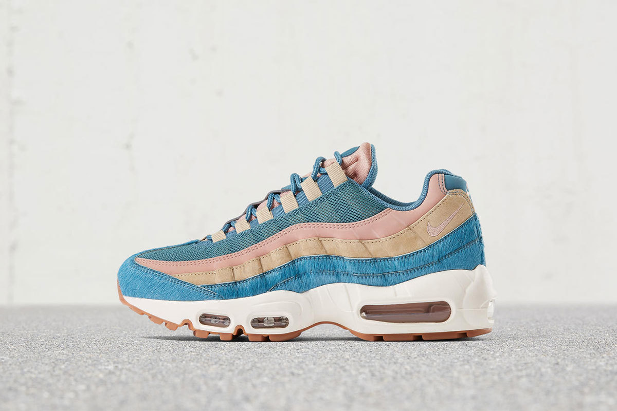 check-out 05758 7c9f2 Nike's New Air Max 95 Is A Furry Pastel Masterpiece Nike's ...