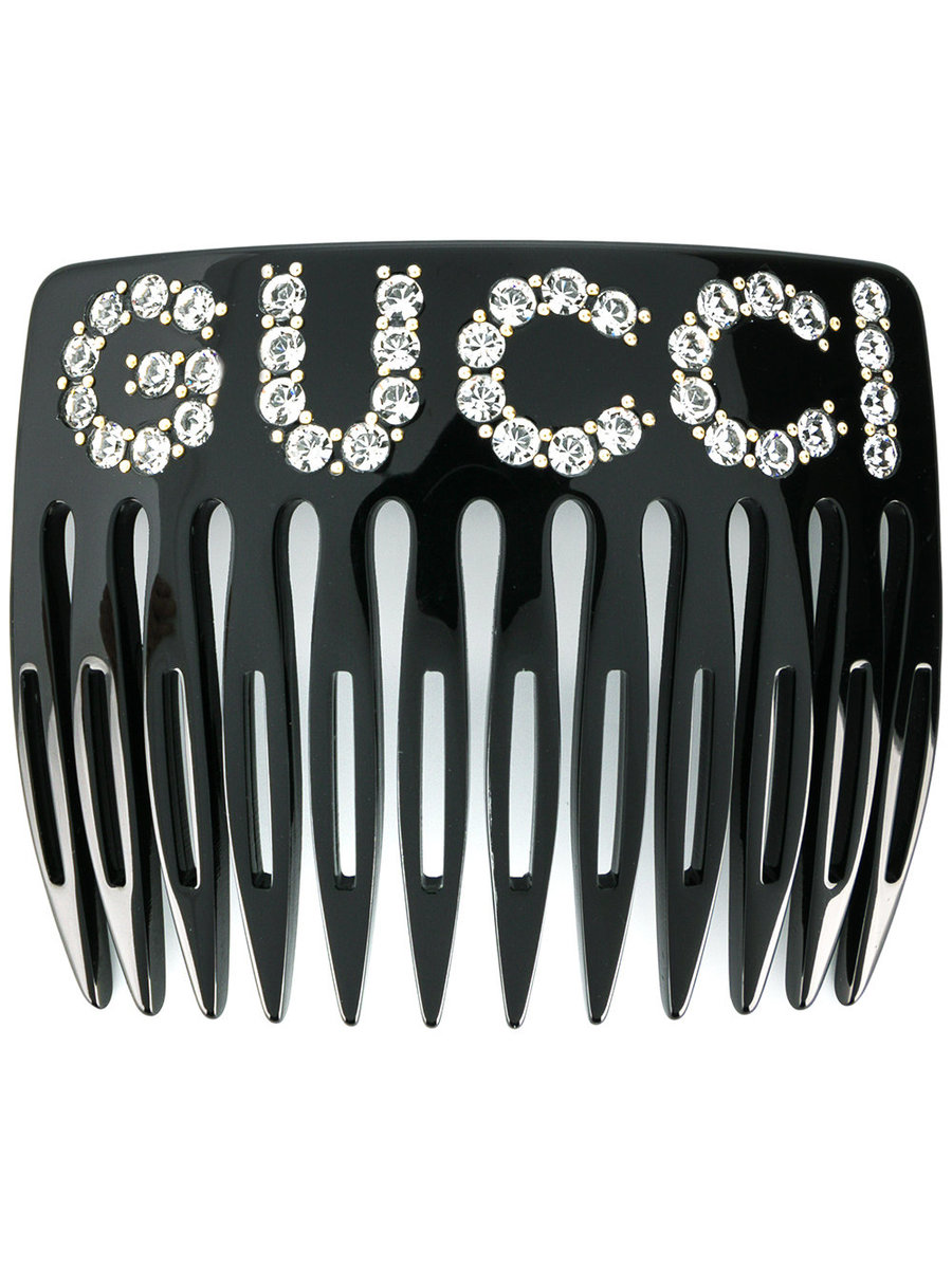 Add Some Gucci Sparkle To Your Hair With This Logo Comb