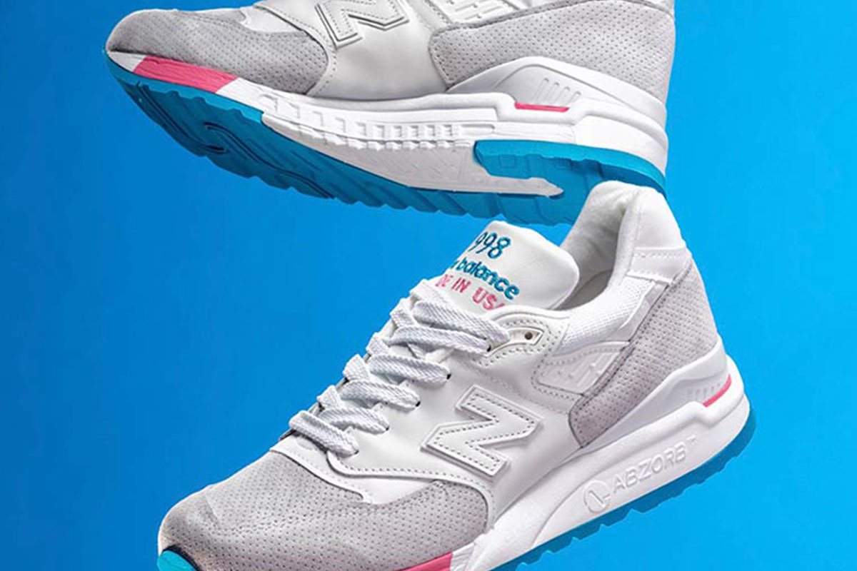 "Have That ""Cotton Candy"" With the New Balance 998"