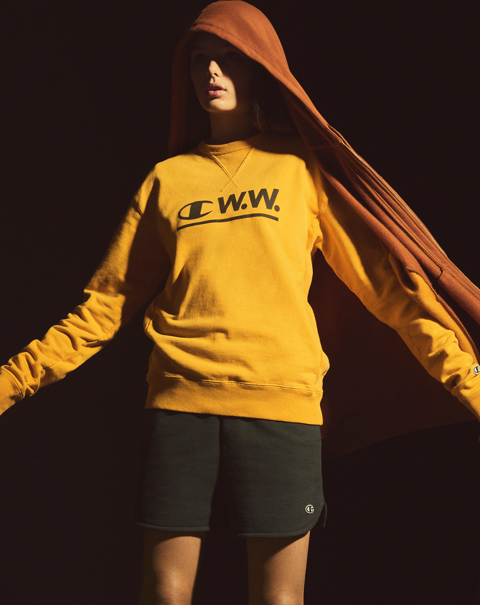 Wood Wood & Champion Team Up For Emotive Sportswear Collection