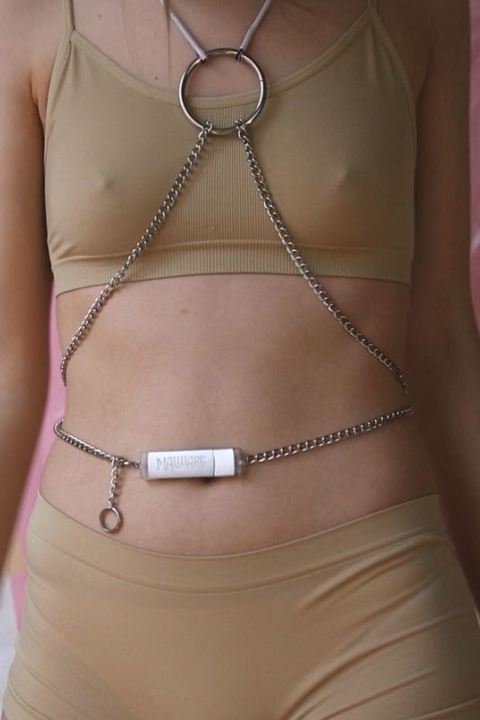 This Virus-Equipped Bondage Jewelry Is Your Sexy New Secret Weapon