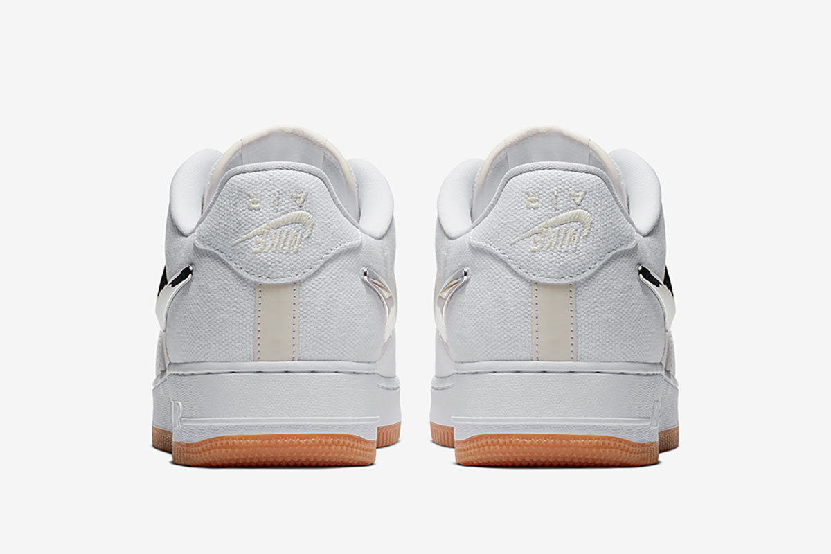 The Travis Scott X Nike Air Force 1 Low Releases Tomorrow